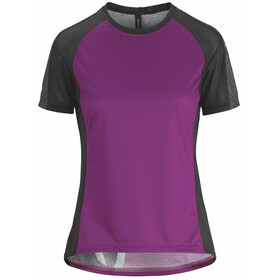 assos Trail Bike Jersey Shortsleeve Women purple/black